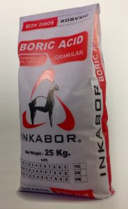 Boric Acid Typical Packaging